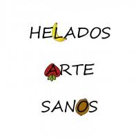 Logo Helados Arte Sanos