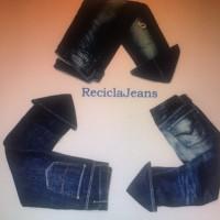 Logo Recicla Jeans (R.J.)